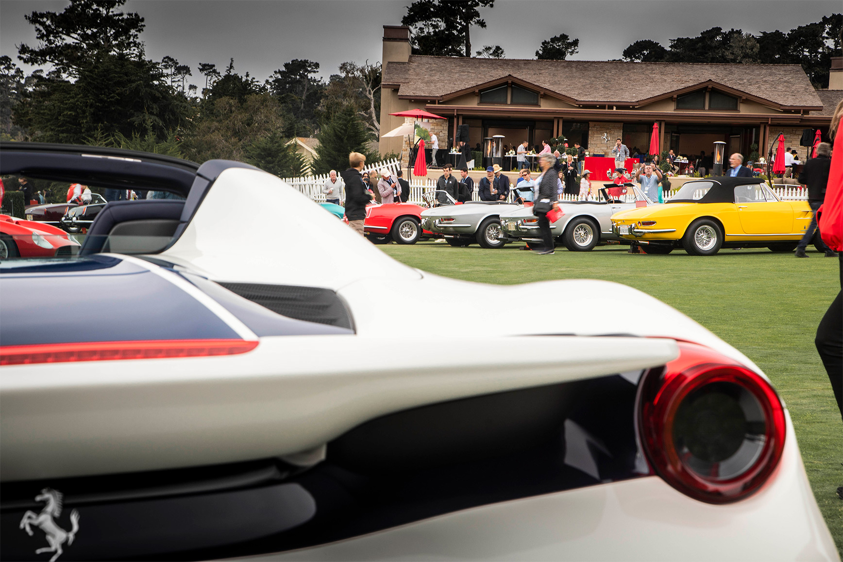 TrackWorthy - Tribute to Ferrari Spiders at Pebble Beach (3)