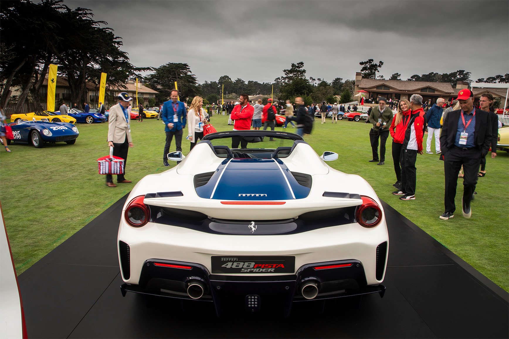 TrackWorthy - Tribute to Ferrari Spiders at Pebble Beach (4)