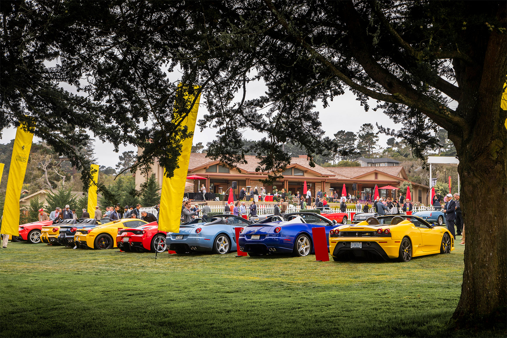 TrackWorthy - Tribute to Ferrari Spiders at Pebble Beach (7)