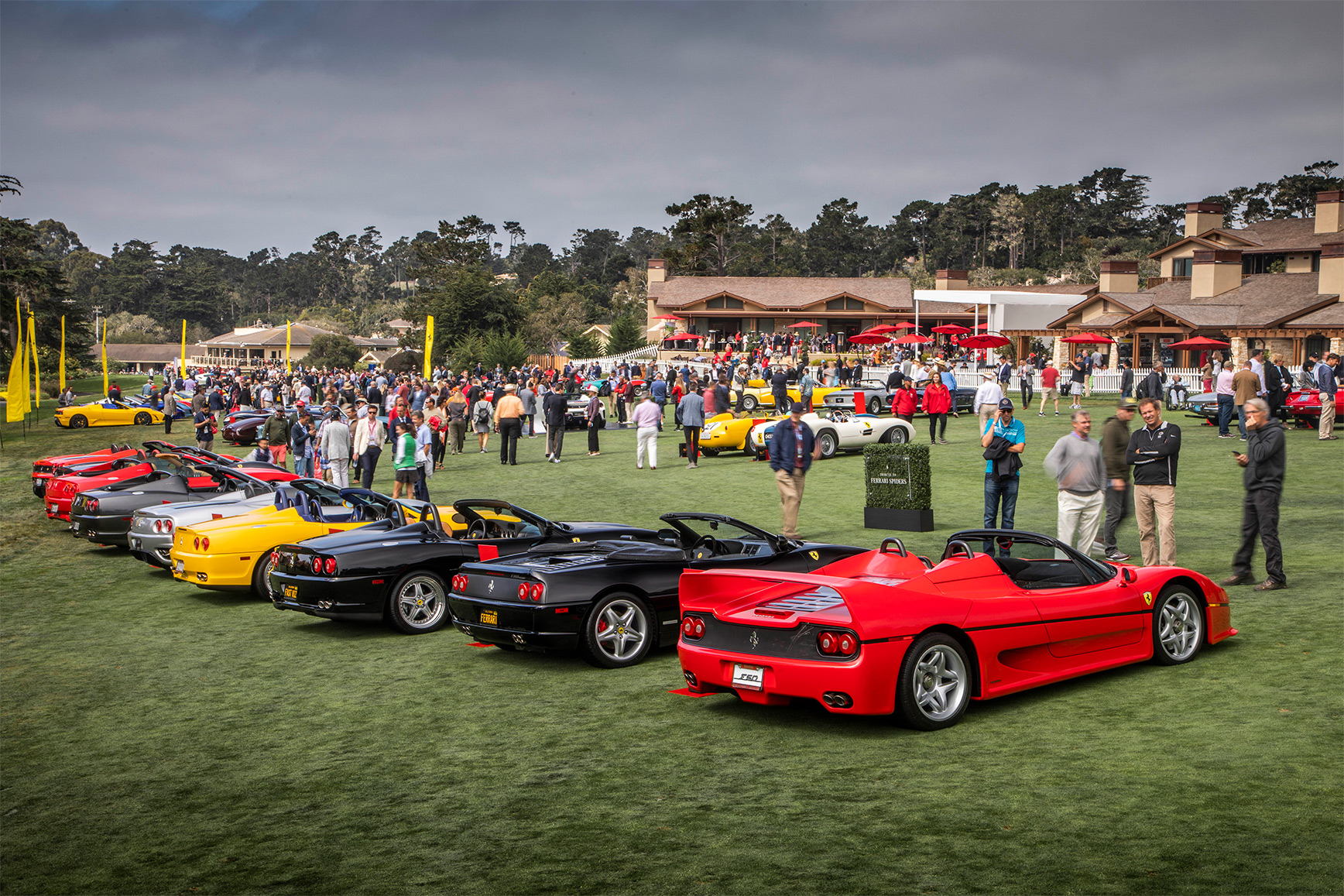 TrackWorthy - Tribute to Ferrari Spiders at Pebble Beach (9)