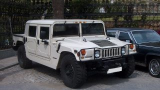 Hummer a symbol of military might and commercial excess