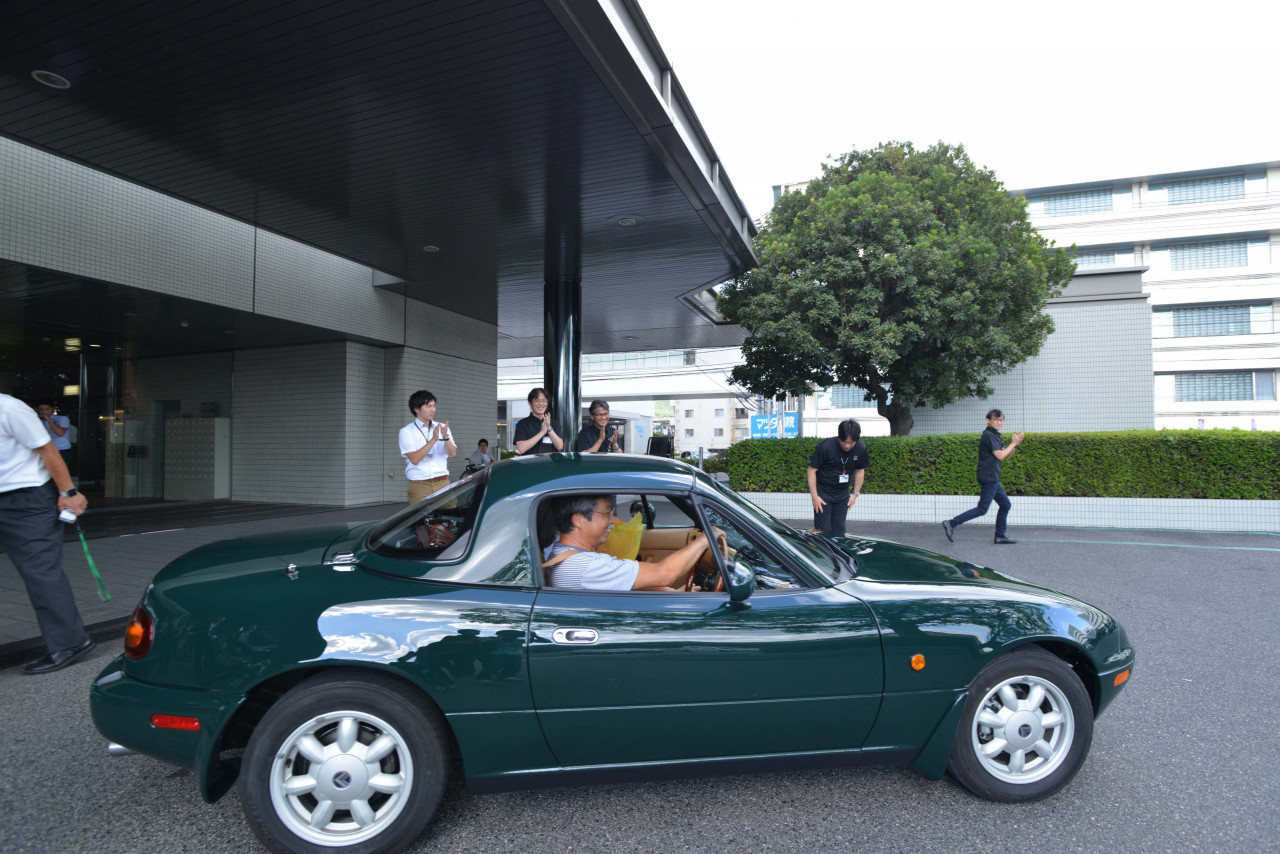 Mazda's First Factory-Restored Miata