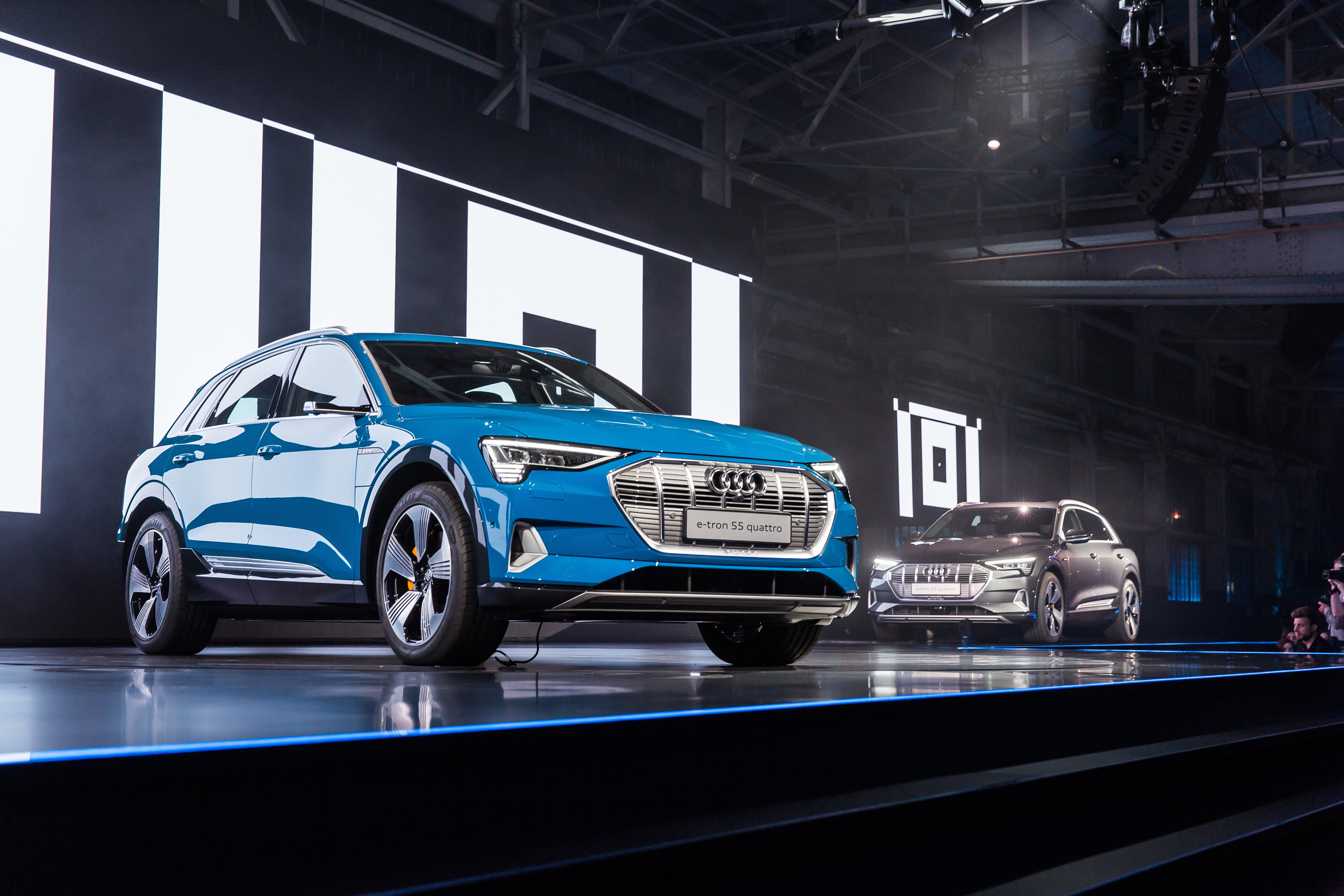 First All-electric Audi e-tron Launched