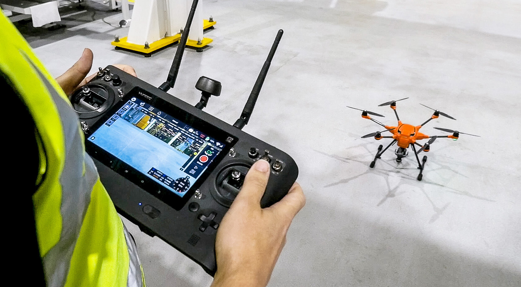 Ford using Engine Plant Inspection Drones