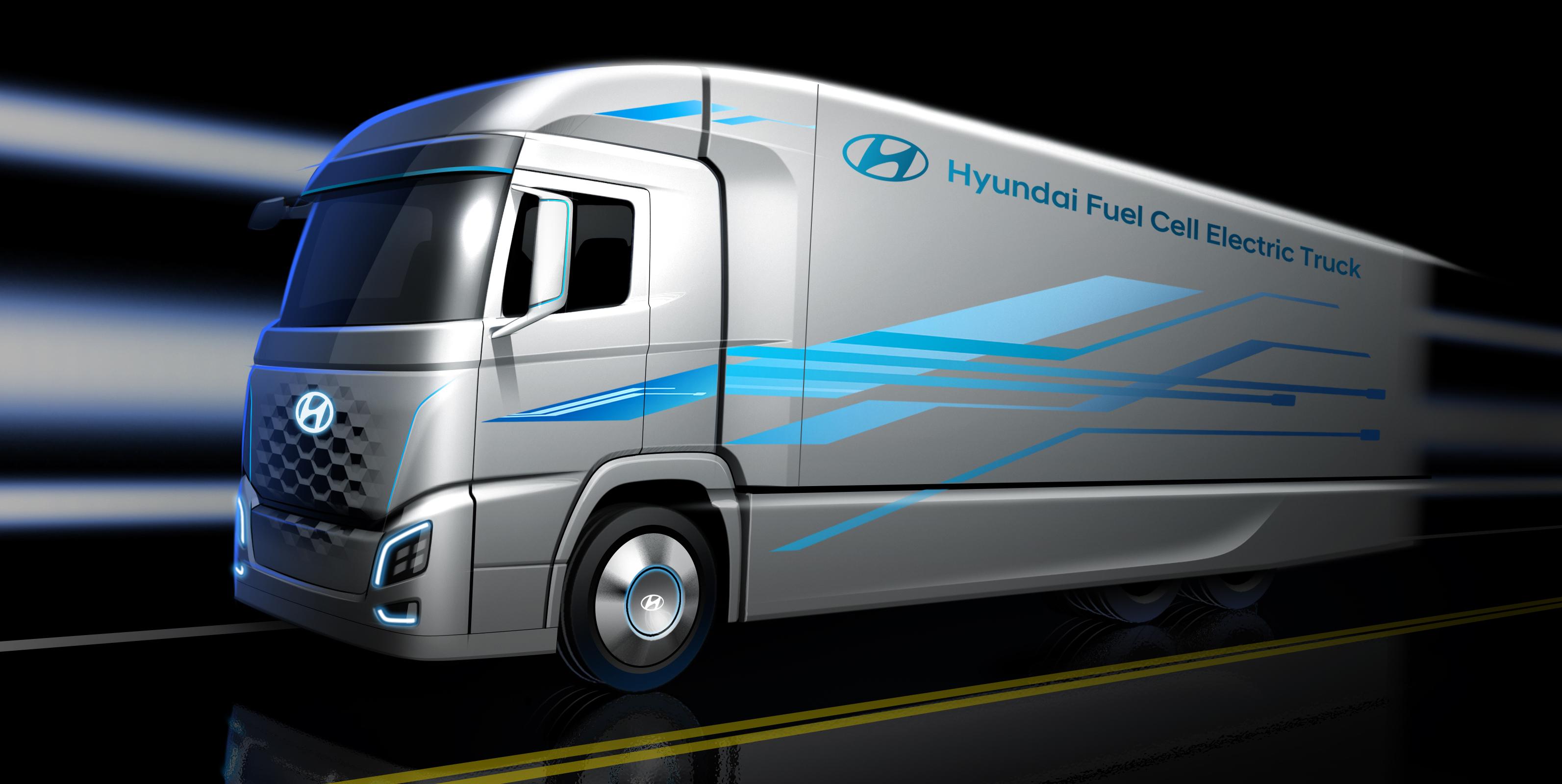Hyundai Plans Fuel Cell Truck