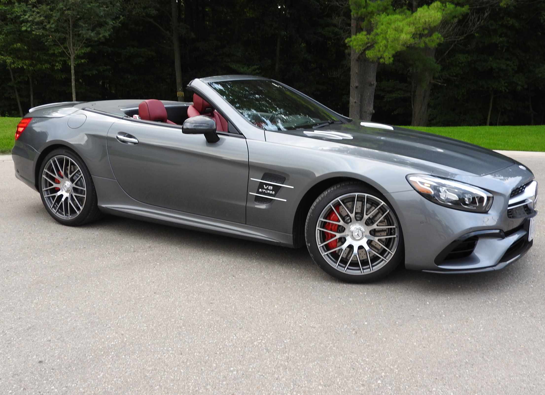 Review 2018 Mercedes-AMG SL 63
