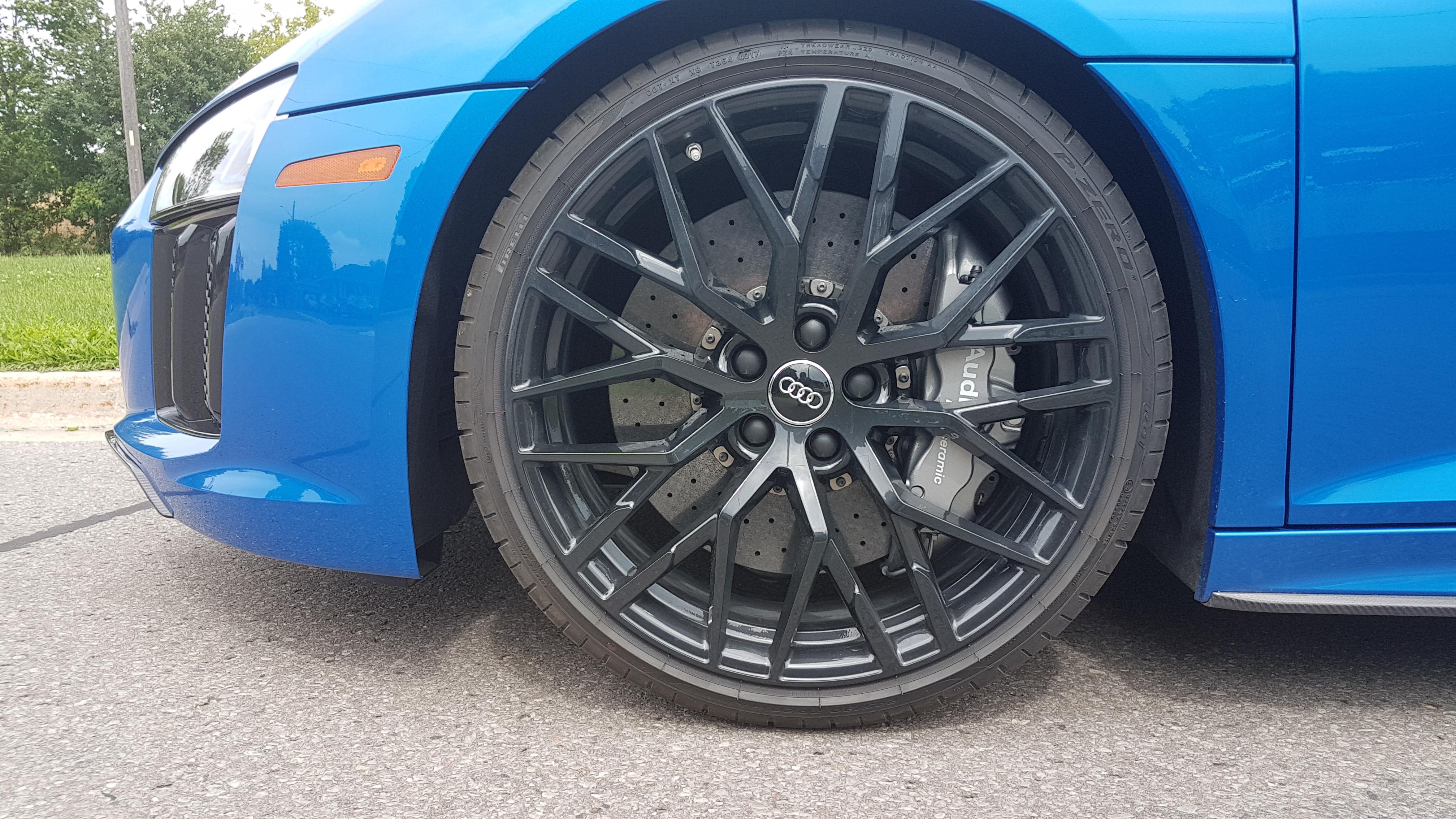 Review 2018 Audi R8 Spyder V10 Plus Wheelsca