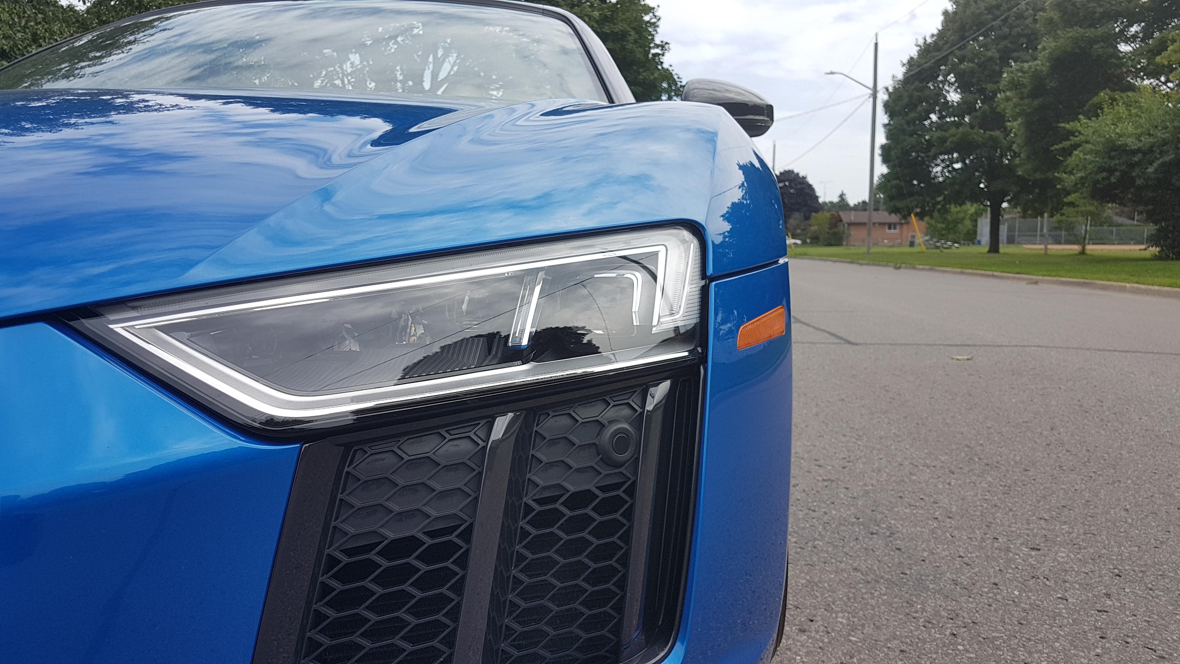 Review 2018 Audi R8 Spyder V10 Plus Wheels Ca
