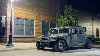 The track titan 1987 HMMWV