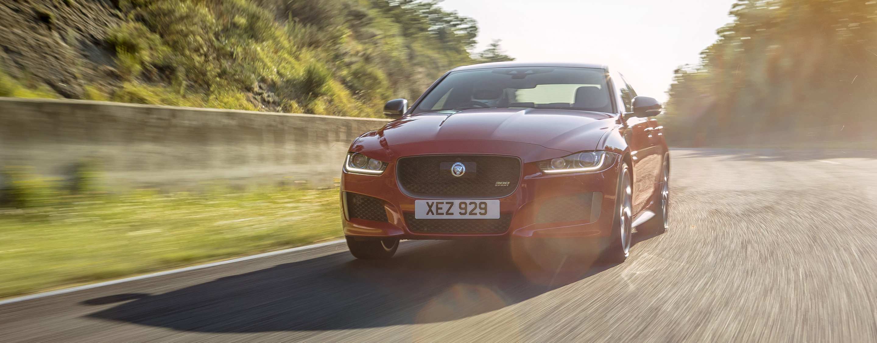 TrackWorthy - 2019 Jaguar XE 300 SPORT at Forgotten GP Circuit (1)