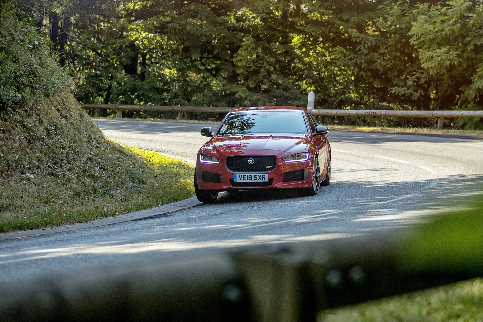 TrackWorthy - 2019 Jaguar XE 300 SPORT at Forgotten GP Circuit (3)