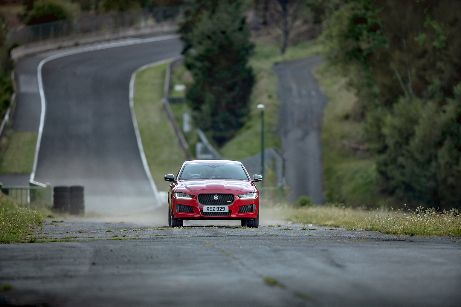 TrackWorthy - 2019 Jaguar XE 300 SPORT at Forgotten GP Circuit (6)
