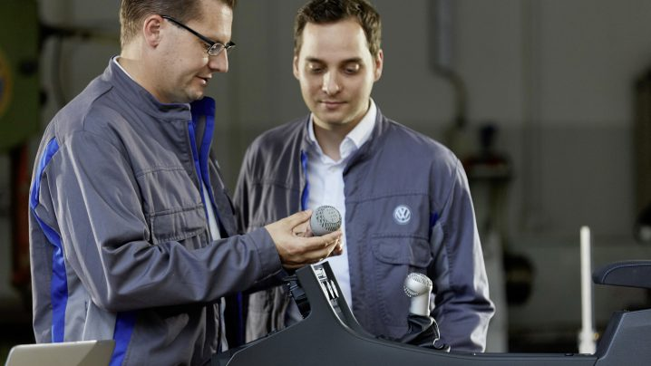 VW using 3D printing for Parts