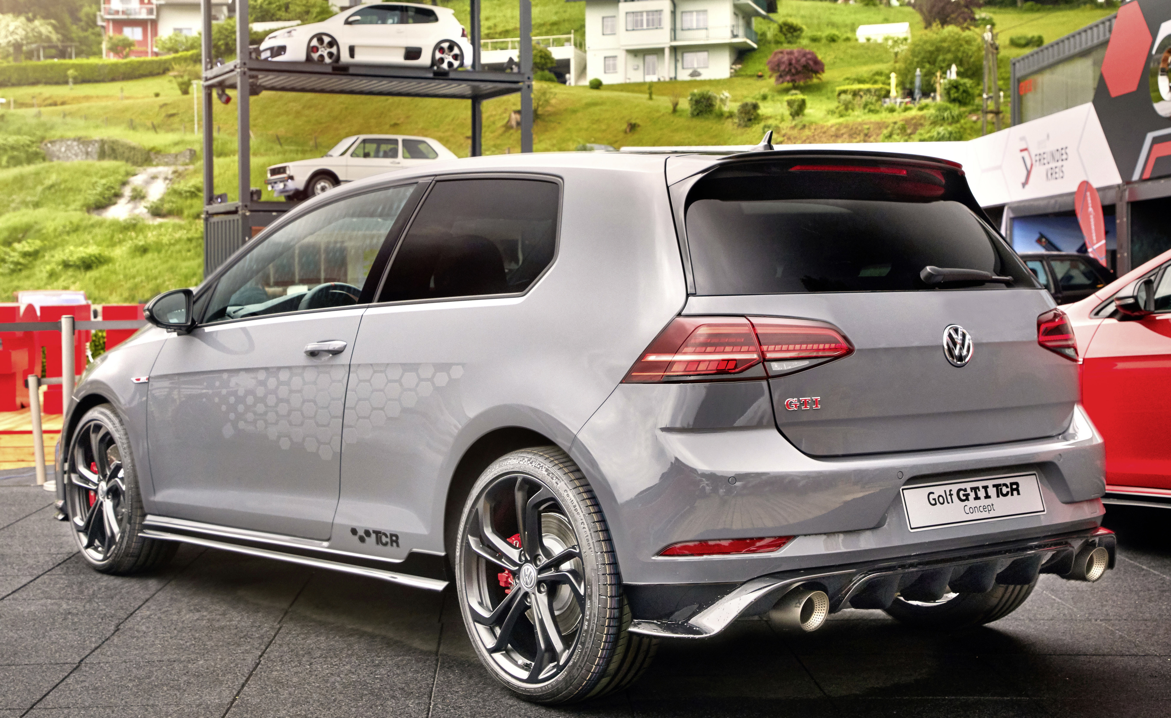 Vw Gti Tcr Concept Comes Home Wheelsca
