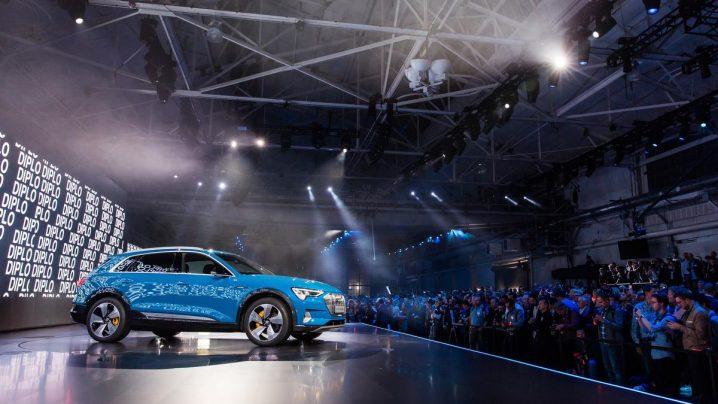 Electric Audi e-tron