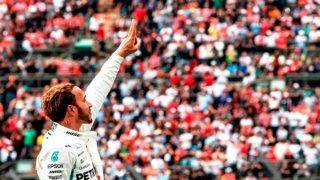 Lewis Hamilton wins his fifth world championship