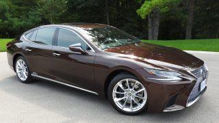 Review 2018 Lexus LS 500h