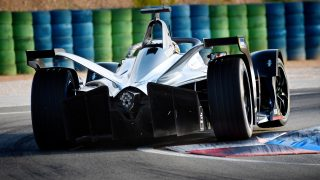 Nissan's official Formula E on-track debut