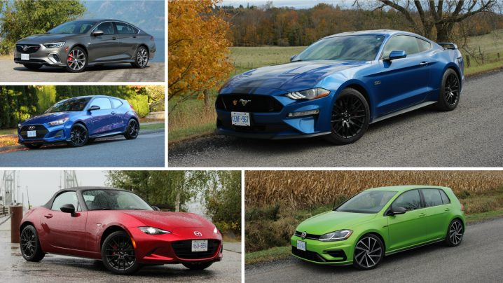 2019 Canadian Car of the Year Sport-Performance Cars