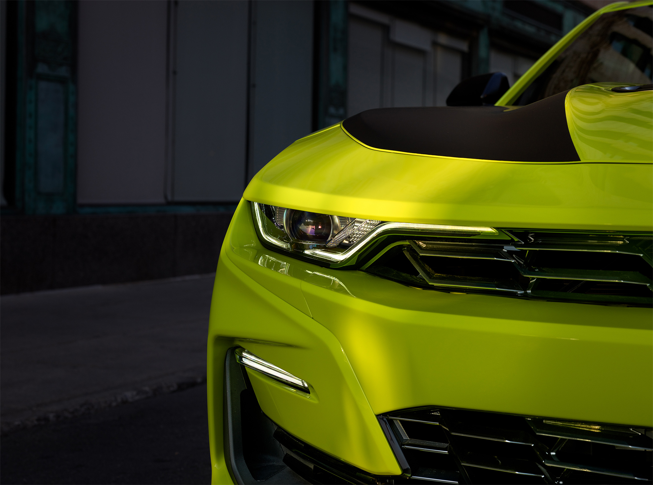 TrackWorthy - 2019 Chevrolet Camaro SS Coupe Shock Yellow (3)