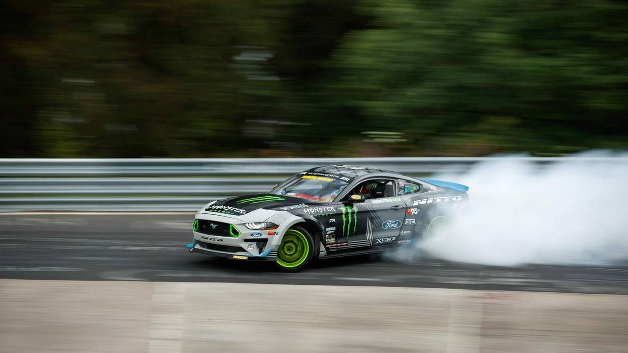 TrackWorthy - Vaughn Gittin Jr. Drifts The Nurburgring Nordschleife (1)