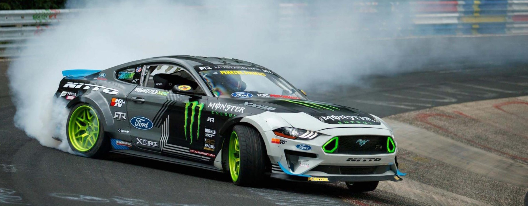 TrackWorthy - Vaughn Gittin Jr. Drifts The Nurburgring Nordschleife (2)