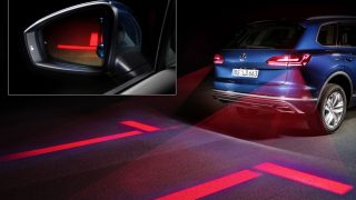 Interactive Head and Tail Lights