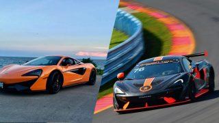 Road Car vs Racecar McLaren 570S vs GT4