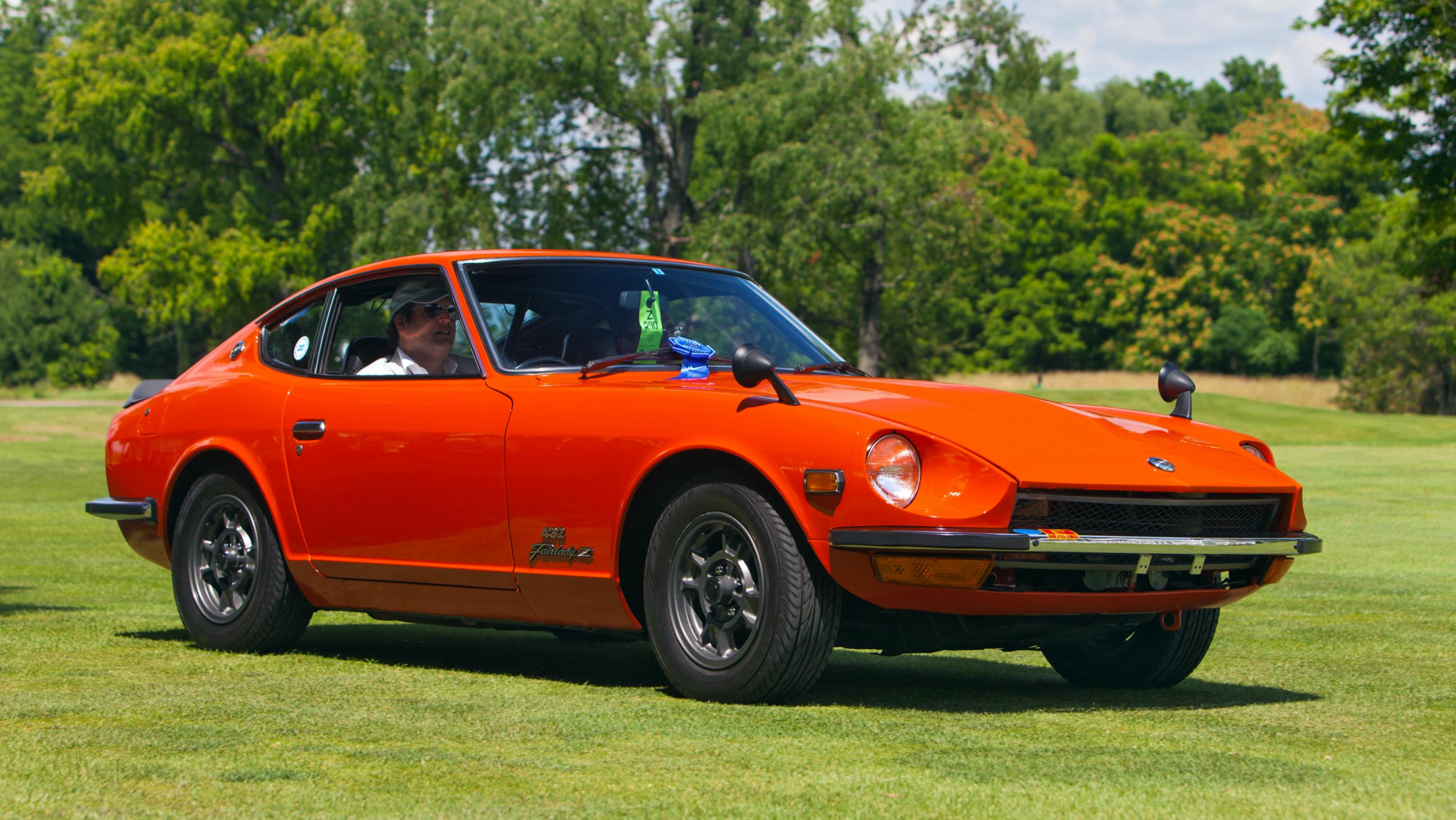Historic Nissans at Z Car Convention