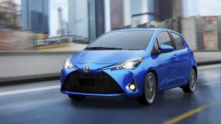 Canadian sales of Toyota cars