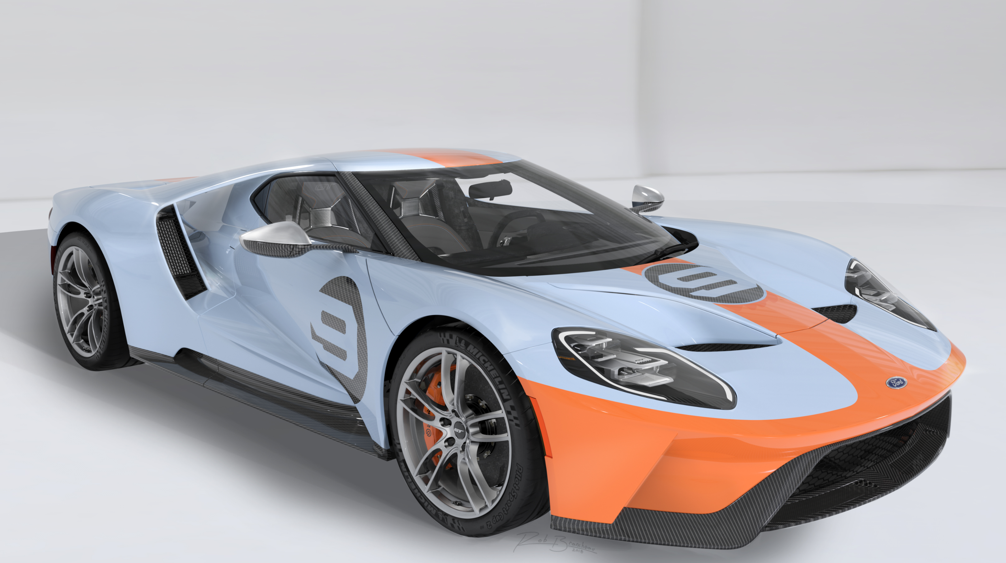 Gulf Oil-livery Heritage Edition