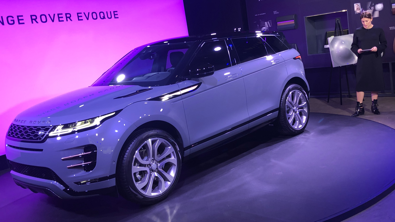 2020 Range Rover Evoque is Land Rover's First Hybrid – WHEELS ca