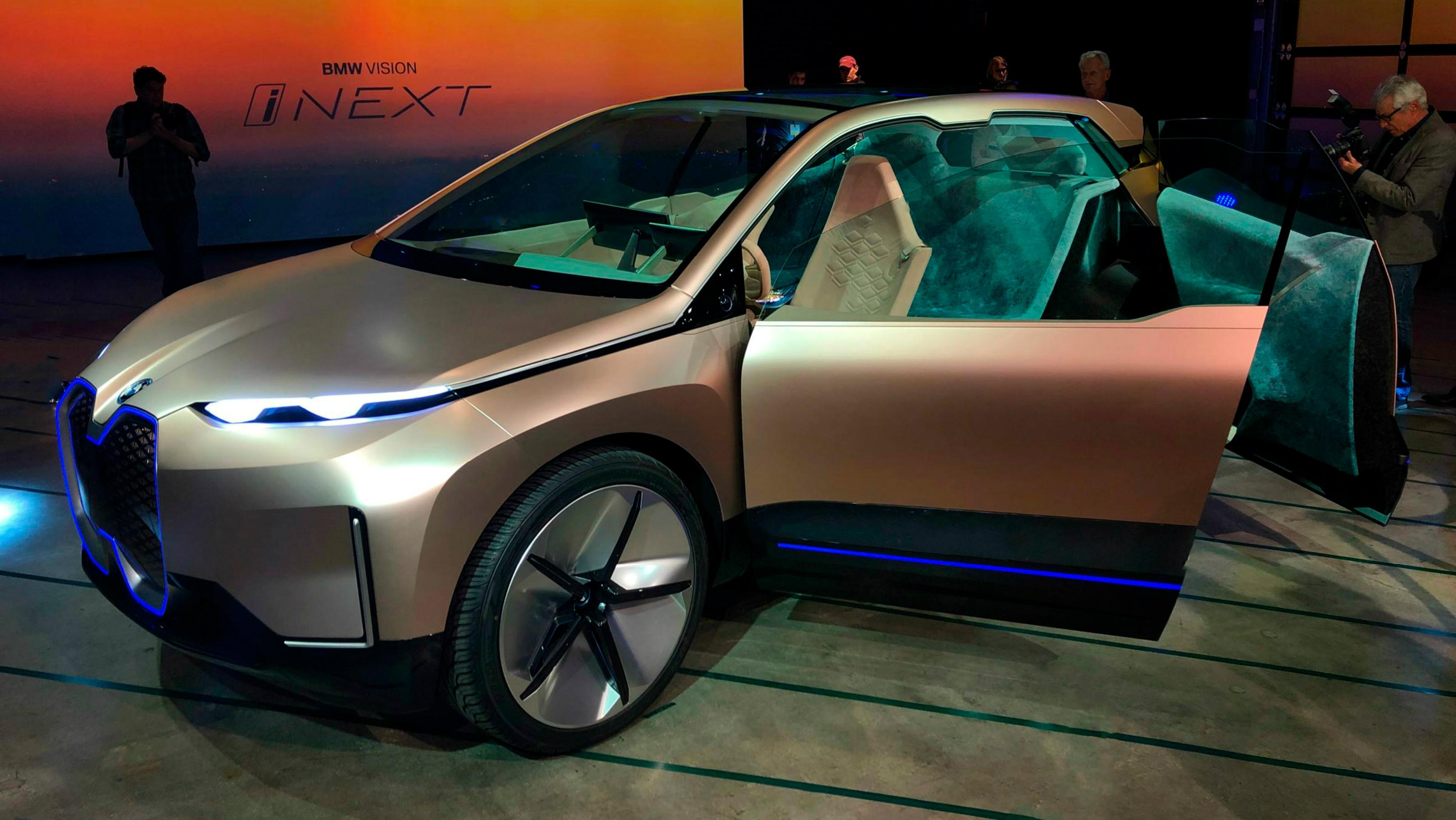 BMW Vision iNEXT Premieres at Automobility LA