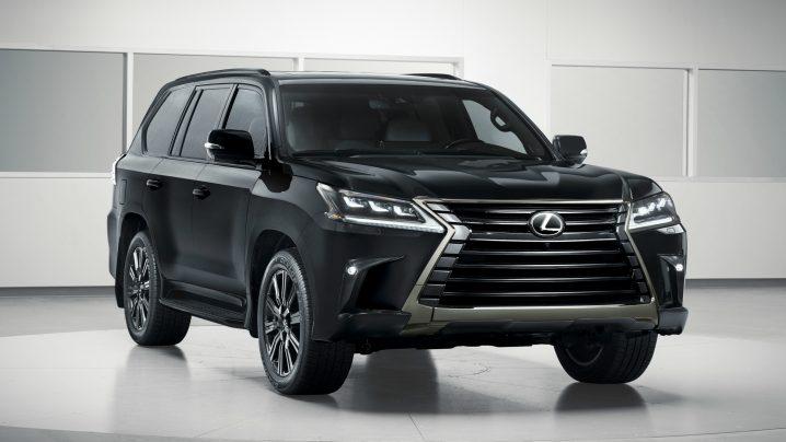 Lexus LX Inspiration debuts in LA