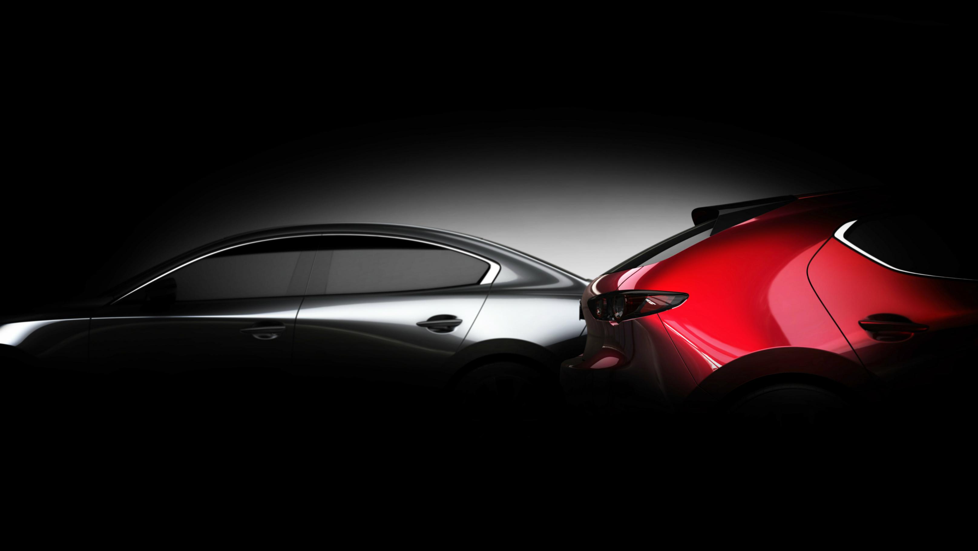 Mazda3 teases