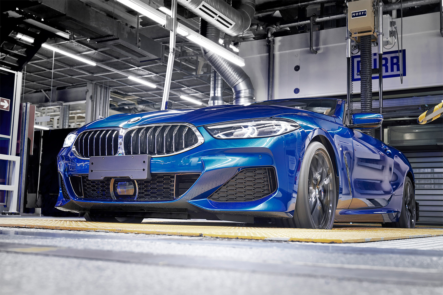 TrackWorthy - First BMW 8 Series Cabriolet rolls off the line - 840d (2)
