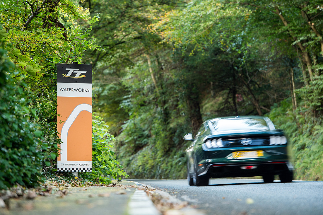 TrackWorthy - Mustang Bullitt at the Isle of Man TT (12)