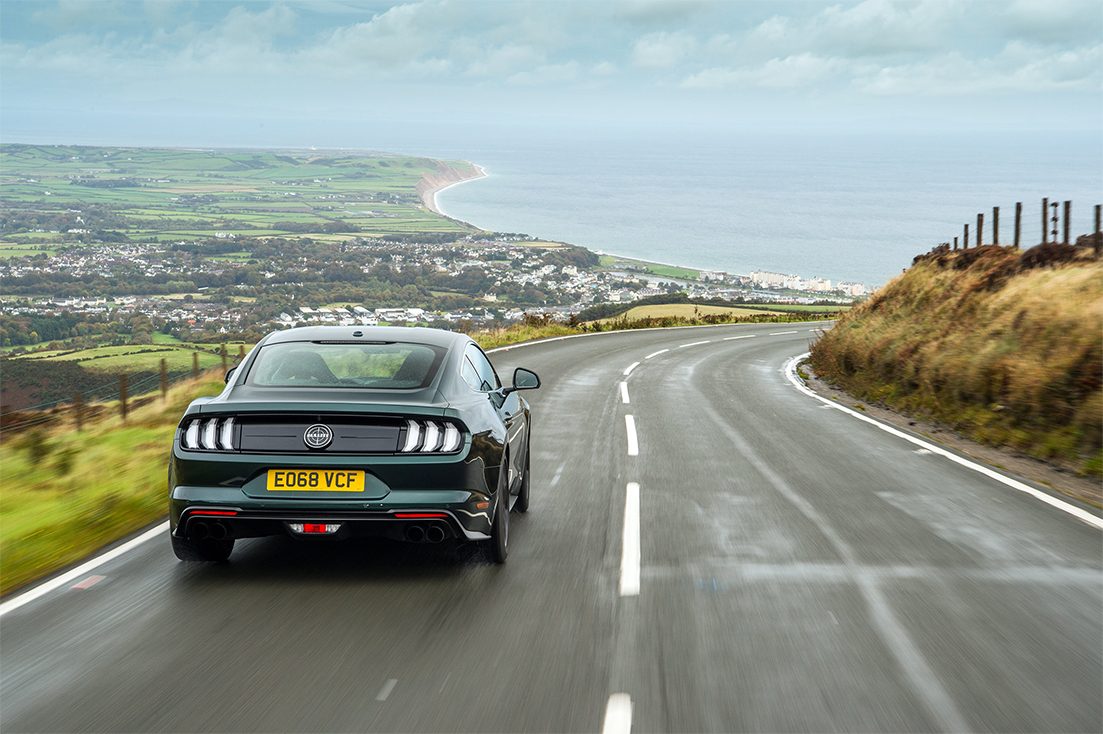TrackWorthy - Mustang Bullitt at the Isle of Man TT (9)