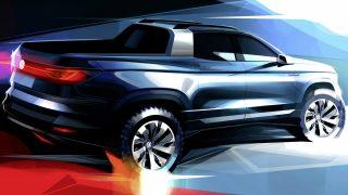 VW Pickup Concept Debuts in Brazil
