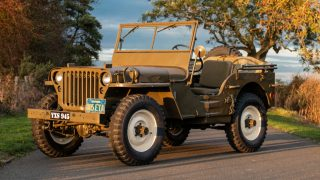 Steve McQueen's 1945 Willys Jeep MB