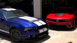 Mustang GT500 take on 2013 Camaro ZL1