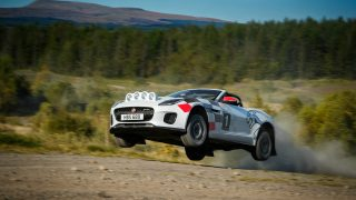 F-TYPE Convertible Rally Cars