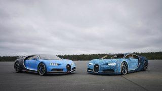 LEGO-built Bugatti