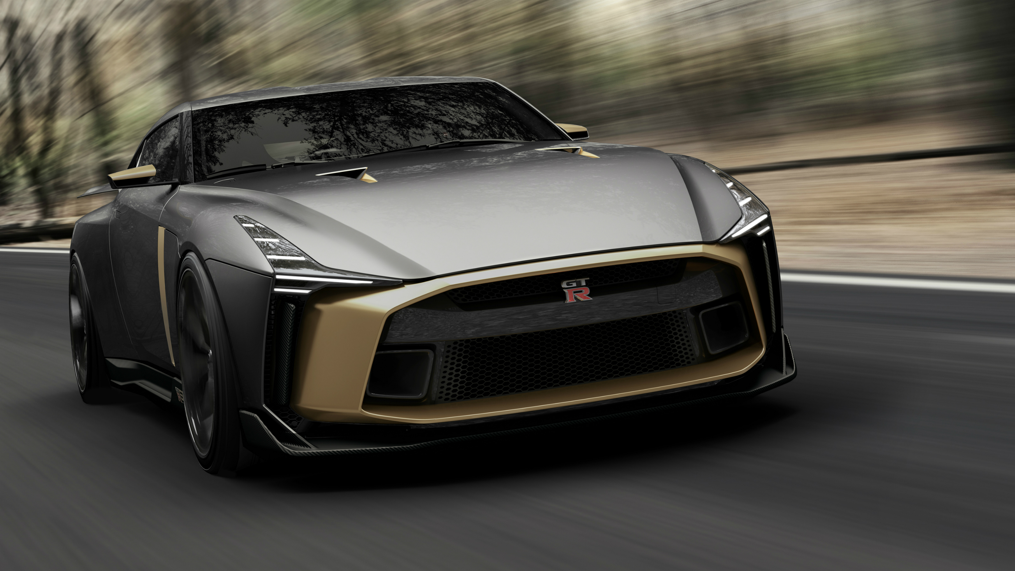 The Nissan GT-R50 by Italdesign