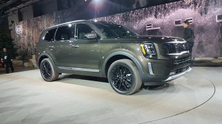 Kia rolls out 2020 Telluride in Detroit
