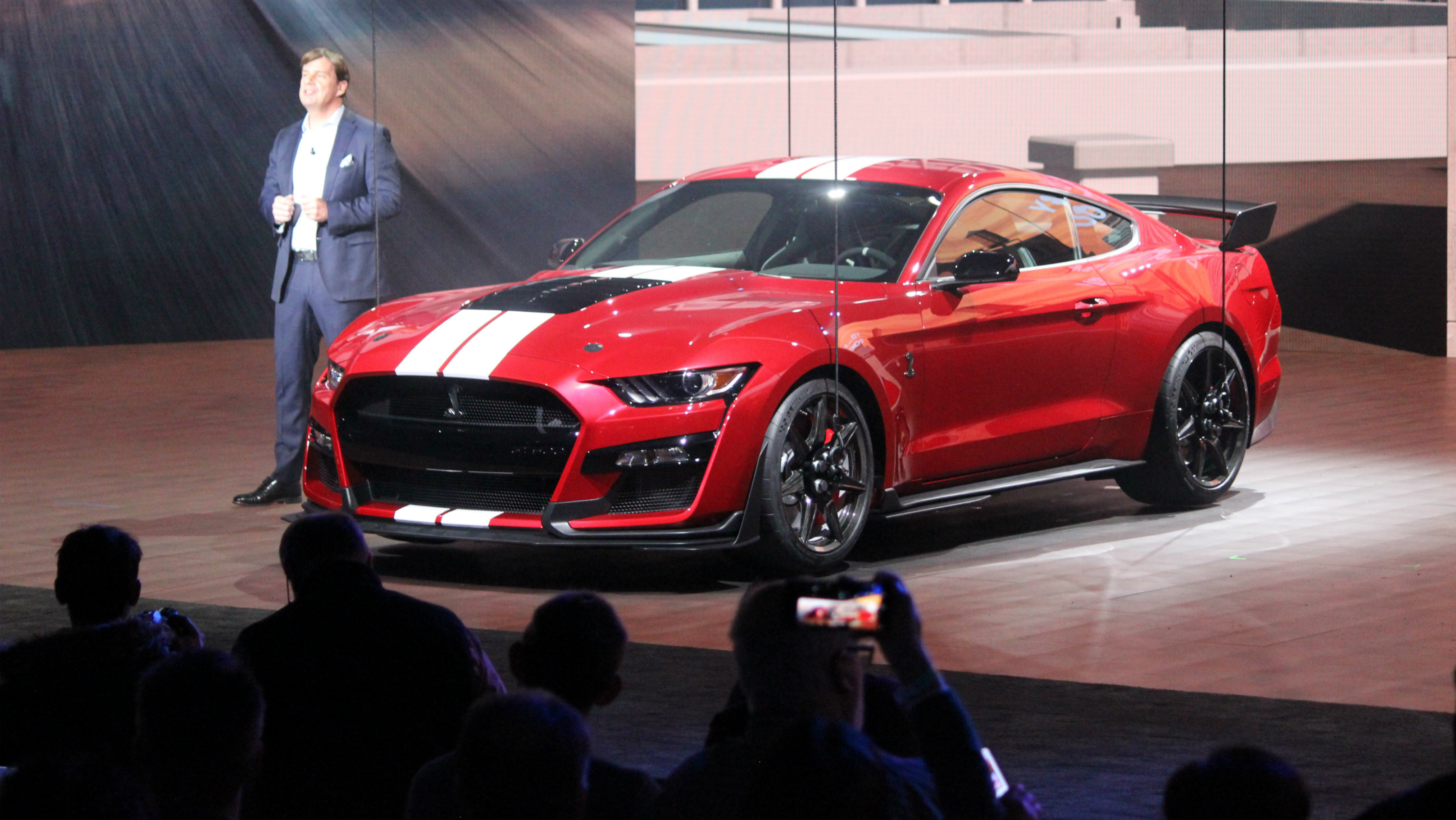 2020 ford mustang shelby gt500 debuts in detroit