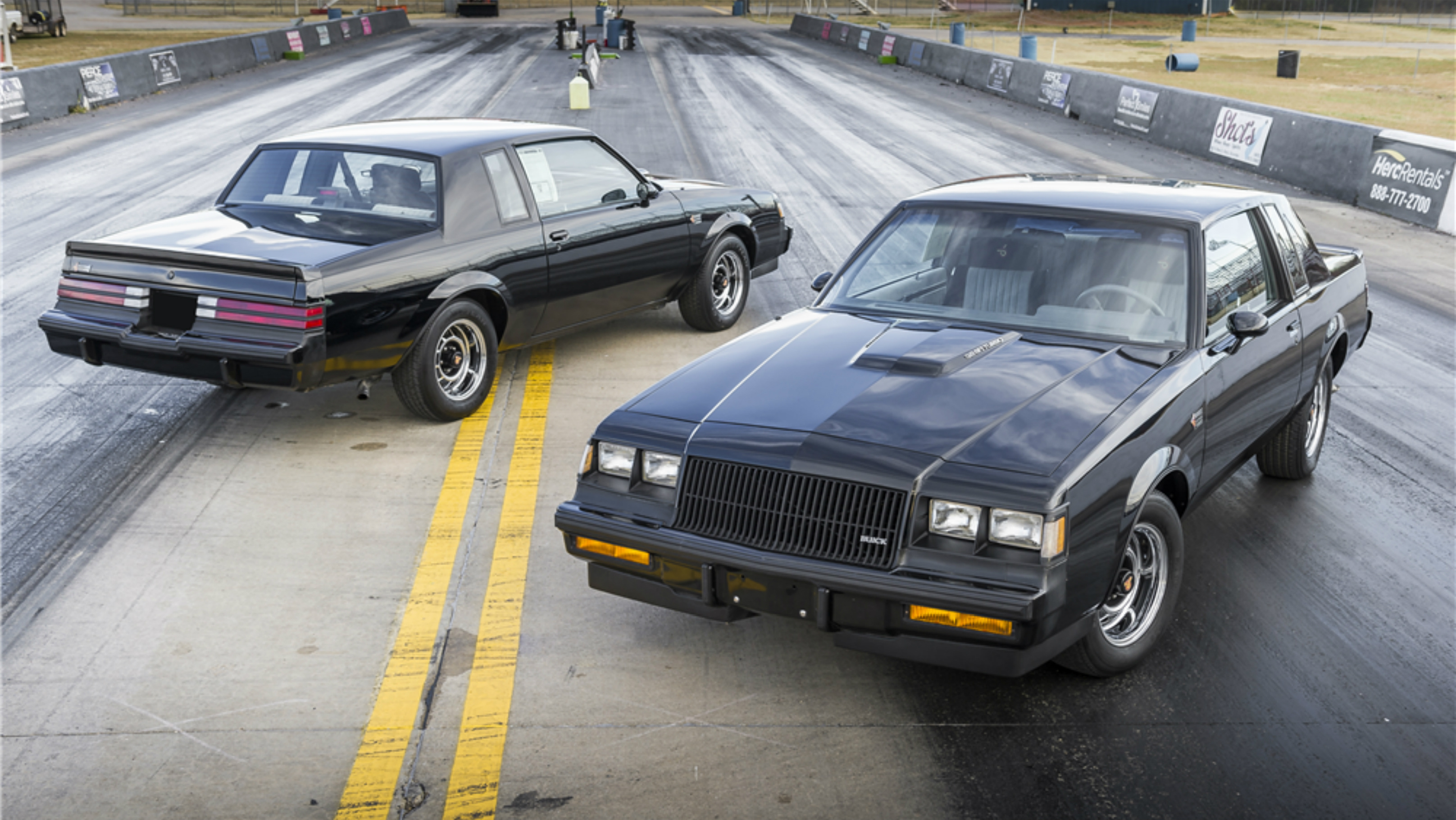 Buick Grand National Twins Up For Auction