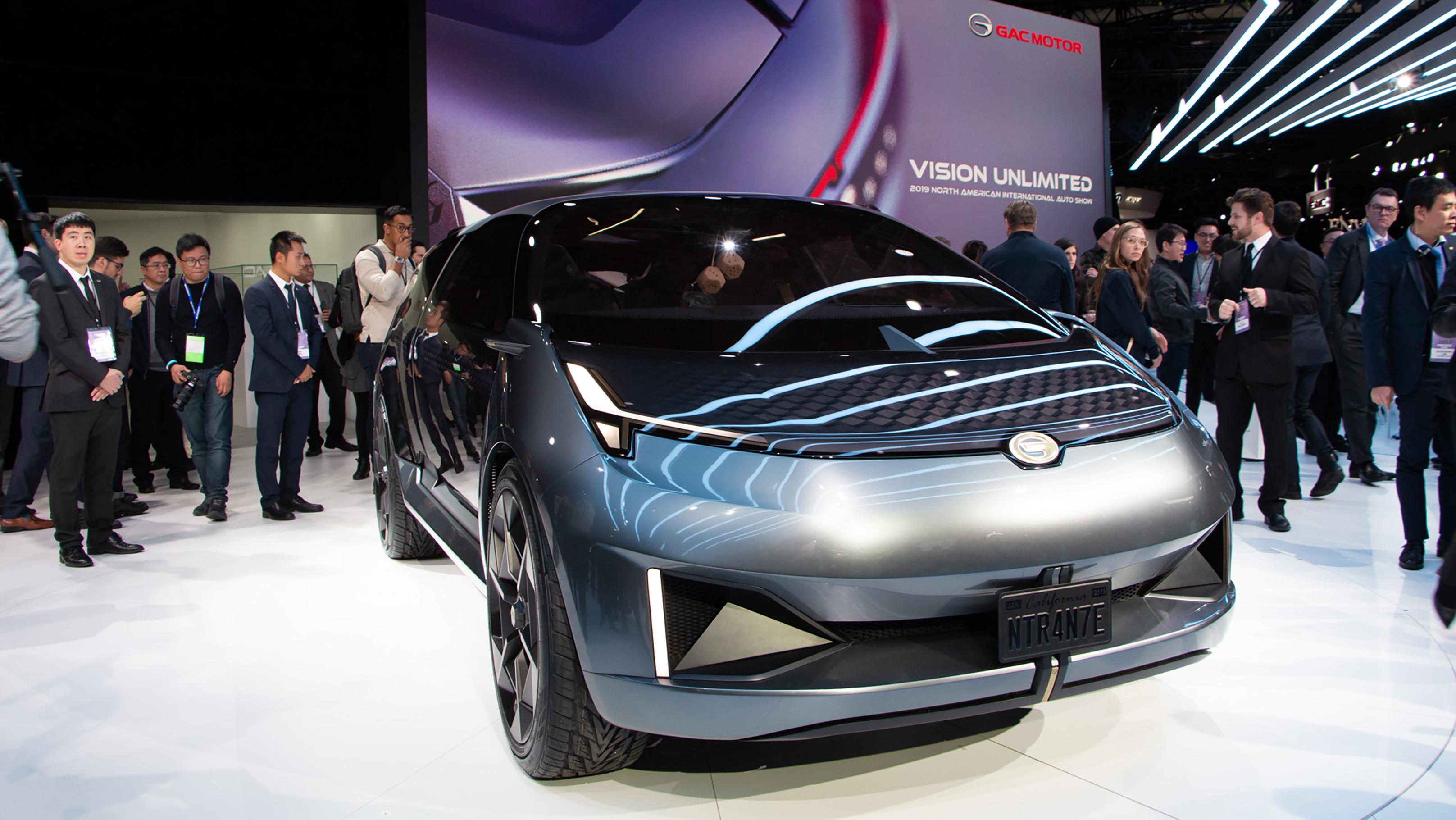GAC Motor Shows Electric Concept