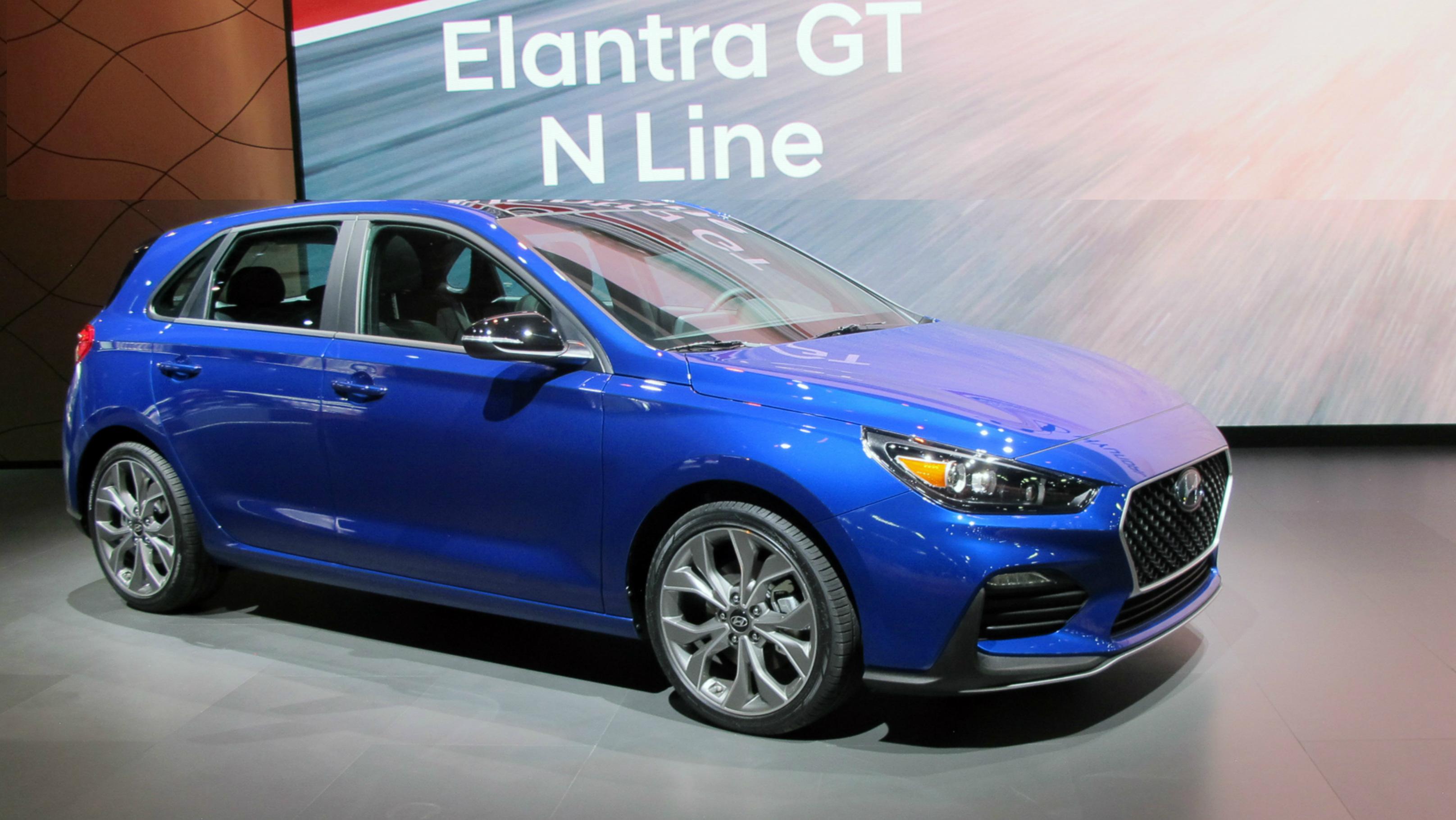Hyundai Elantra GT N Line coming to AutoShow