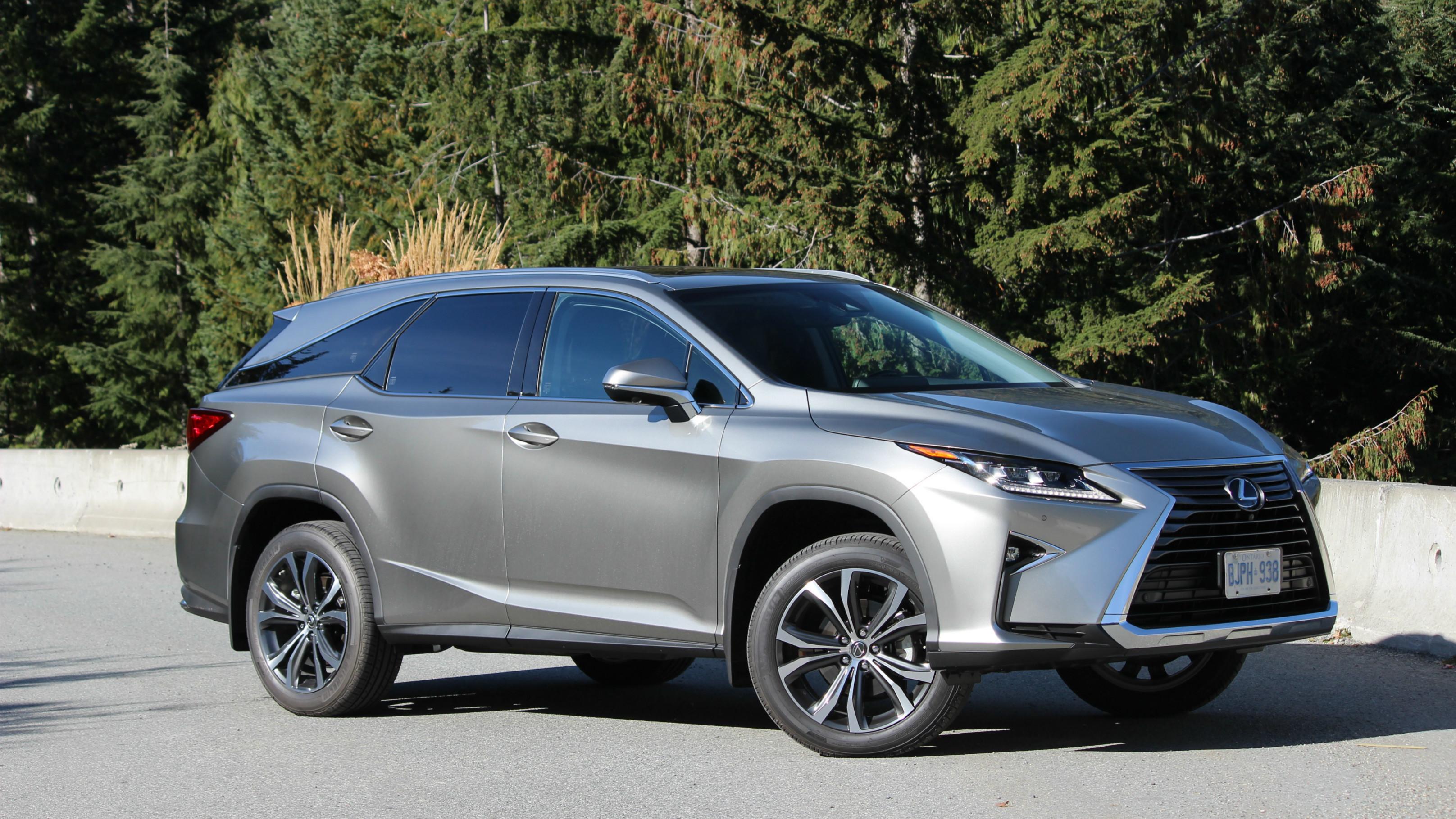Review 2018 Lexus RX 350L